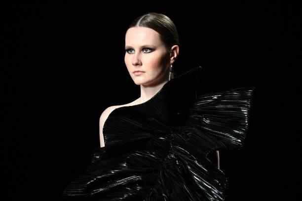 ESP: Isabel Sanchis - Mercedes Benz Fashion Week Madrid - April 2021
