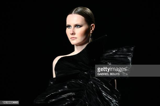 ESP: Isabel Sanchis - Mercedes Benz Fashion Week Madrid - April 2021