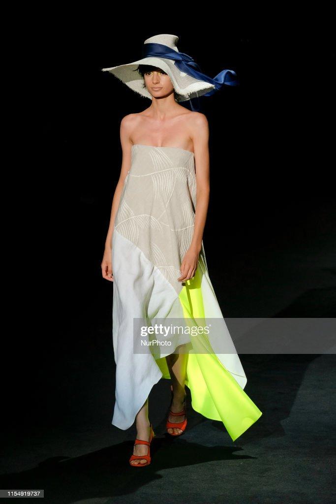 Ulises Merida - Catwalk - Mercedes Benz Fashion Week Madrid Spring/Summer 2020 : News Photo