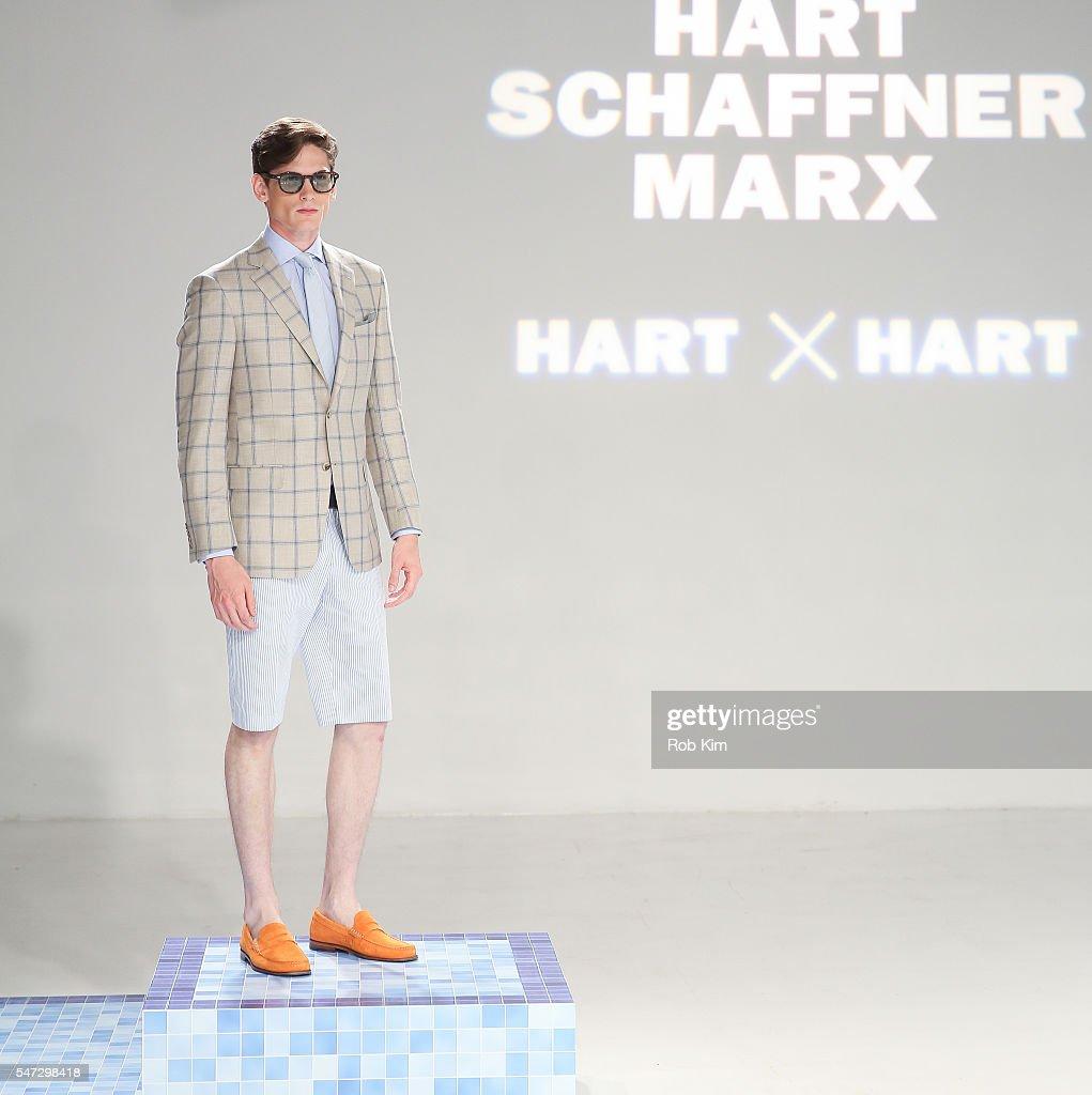 NY: David Hart x Hart Schaffner Marx - Presentation - New York Fashion Week: Men's S/S 2017