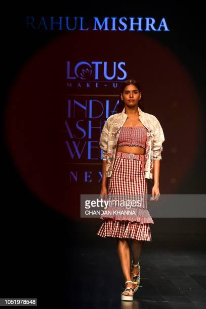 Presents India Fashion Week Spring Summer 2018 Stock Photos And