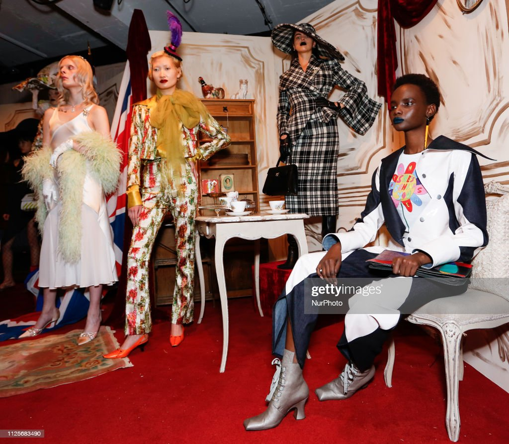 GBR: Steve O Smith - Presentation – London Fashion Week February 2019