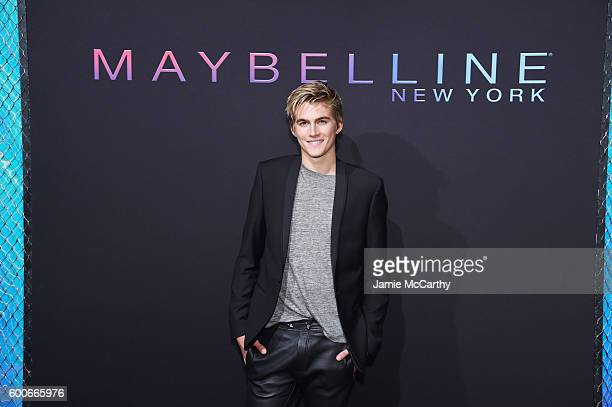 Model Presley Gerber attends the Maybelline New York NYFW KickOff Party on September 8 2016 in New York City