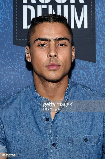 Model Quincy Combs attends the BET How To Rock Denim at Milk Studios on August 10 2016 in New York City
