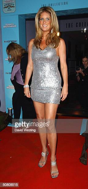 Model Rachael Hunter attends the launch and 40th anniversary party for Sports Illustrated Swimsuit Issue 2004 at The Collection on May 6 2004 in...