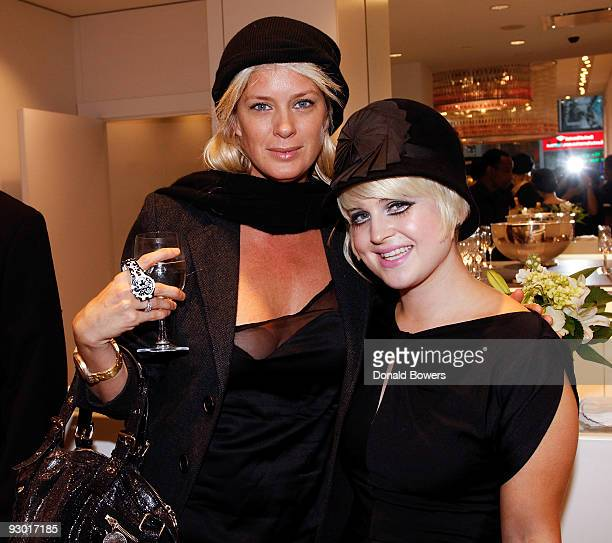 Model Rachel Hunter and television personality Kelly Osbourne attend the Swatch Times Square flagship store grand reopening and 26 Years of Style...