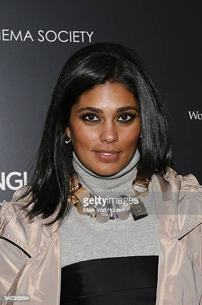 """Model Rachel Roy attends a screening of """"A Single Man"""" hosted by the Cinema Society and Tom Ford at The Museum of Modern Art on December 6, 2009 in..."""