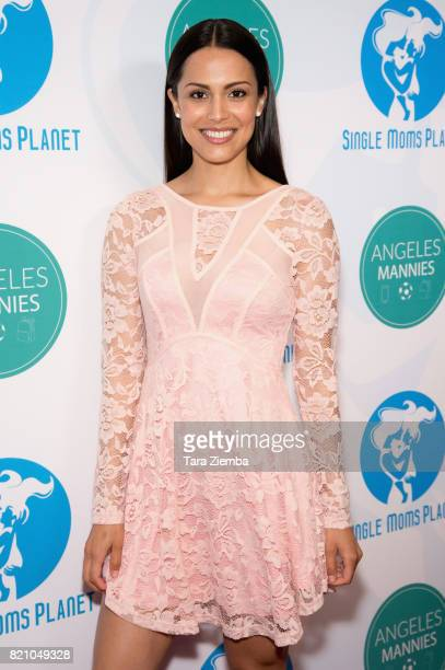 Model Raquel Pomplun attends the Single Mom's Awards at The Peninsula Beverly Hills on May 11 2017 in Beverly Hills California