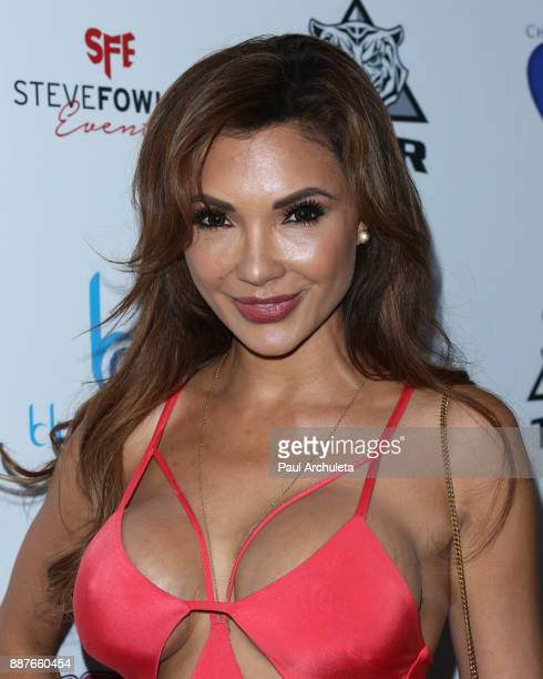Model Raven Lexy attends the 10th annual Babes In Toyland charity toy drive at Avalon on December 6 2017 in Hollywood California