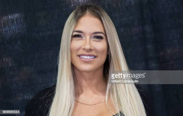 Model reality tv personality and professional wrestler Kelly Kelly attends the 2018 Wizard World Comic Con at Pennsylvania Convention Center on May...