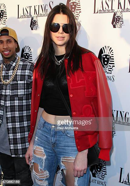 Model / Reality TV Personality Kendall Jenner attends the press preview at Tyga's Last Kings flagship store on February 20 2014 in Los Angeles...