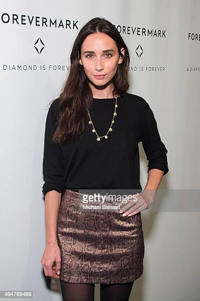 Model Rebecca Dayan attends The One New York premiere at Stephen Weiss Studio on October 28 2015 in New York City