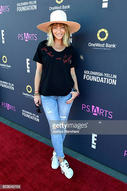 Model Rebecca Gayheart attends PS ARTS and OneWest Bank's Express Yourself 2016 at Barker Hangar on November 13 2016 in Santa Monica California