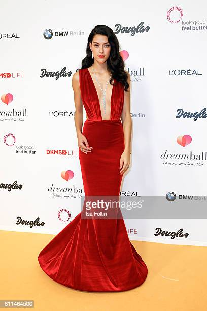 Model Rebecca Mir attends the Dreamball 2016 at Ritz Carlton on September 29 2016 in Berlin Germany