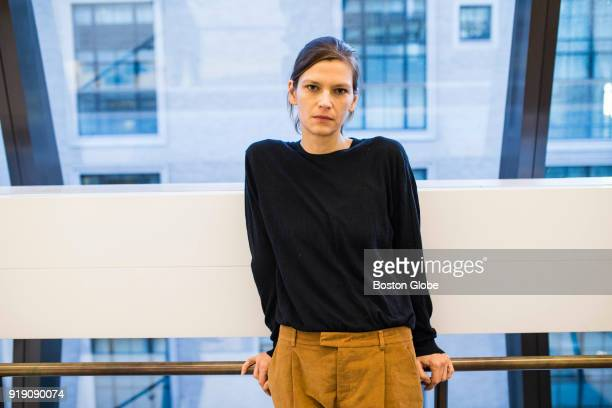 Model Remy Holwick poses for a photo in New York January 24 2018 More than 50 models spoke to the Globe Spotlight Team about sexual misconduct they...