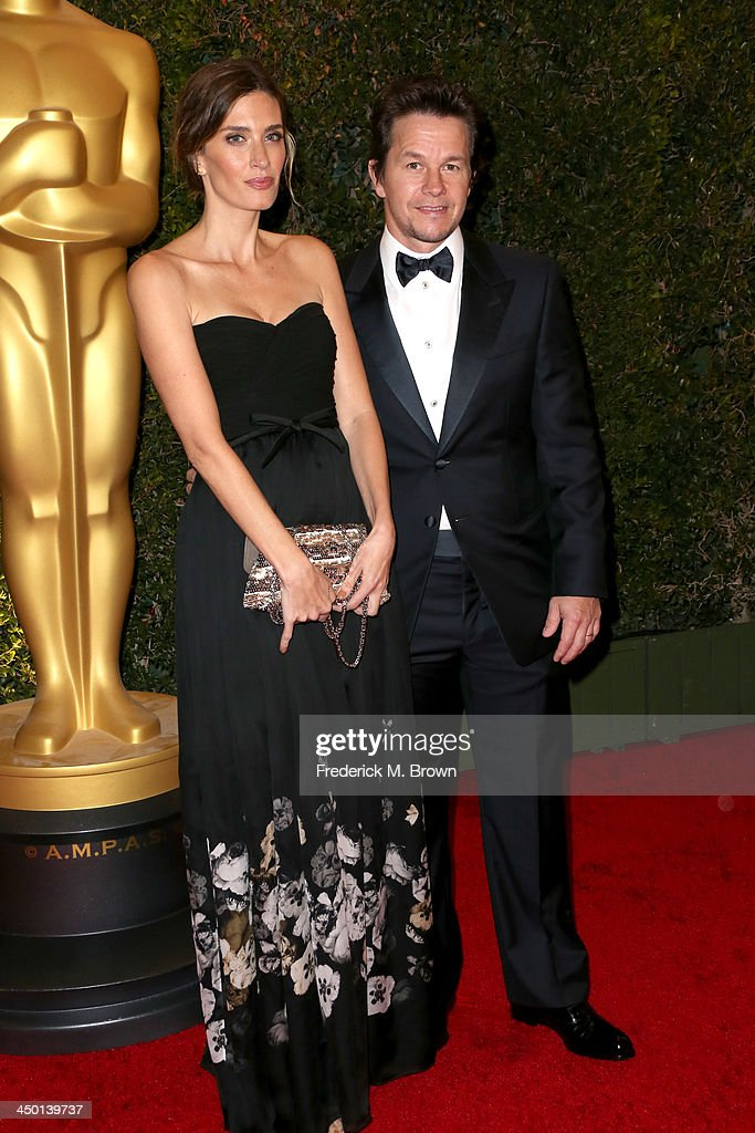 Model Rhea Durham and actor Mark Wahlberg arrive at the Academy of Motion Picture Arts and Sciences' Governors Awards at The Ray Dolby Ballroom at Hollywood & Highland Center on November 16, 2013 in Hollywood, California.