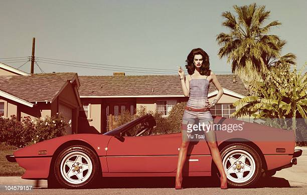 Model Rianne Te Haken poses for a Fashion session in Los Angeles for Flaunt PUBLISHED IMAGE