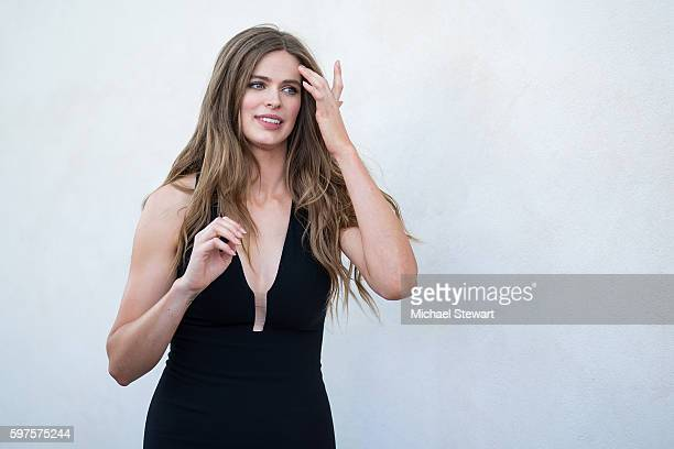 a933a889a52 Model Robyn Lawley attends the 2016 Sports Illustrated Summer of Swim Fan  Festival Concert at the