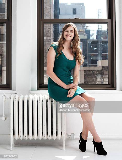 Model Robyn Lawley is photographed for People Magazine on August 16 2012 in New York City