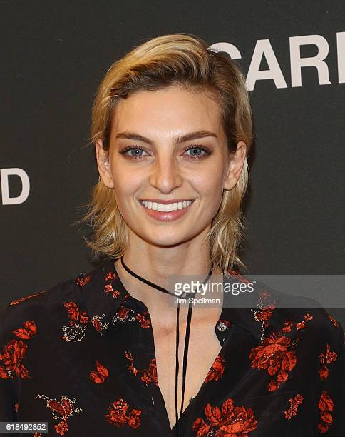 Model Rose Smith attends the UNIQLO Fall/Winter 2016 Carine Roitfeld Collection launch at UNIQLO on October 26, 2016 in New York City.