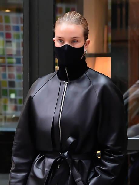 NY: Celebrity Sightings In New York City - April 15, 2021