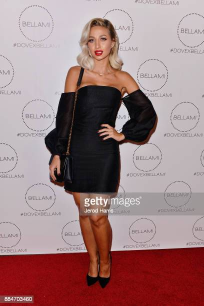 Model Roz attends Dove Cameron x BELLAMI Launch Party at Unici Casa Gallery on December 2 2017 in Culver City California