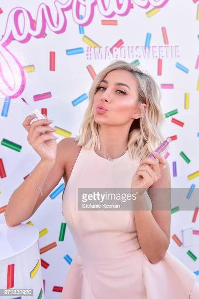 Model Roz attends MAC Cosmetics Oh Sweetie Lipcolour Launch Party in Beverly Hills on June 12 2018 in Beverly Hills California
