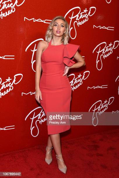 Model Roz attends MAC Cosmetics PatrickStarrr Slay Ride Launch Party at The York Manor on December 2 2018 in Los Angeles California