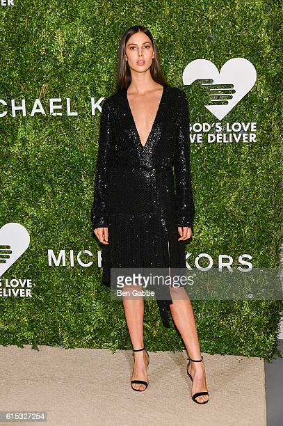 Model Ruby Aldridge attends the 2016 God's Love We Deliver Golden Heart Awards Dinner at Spring Studios on October 17 2016 in New York City