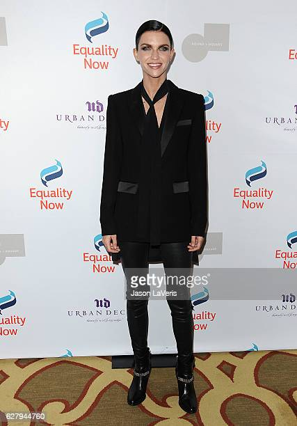 Model Ruby Rose attends Equality Now's 3rd annual Make Equality Reality gala at Montage Beverly Hills on December 5 2016 in Beverly Hills California