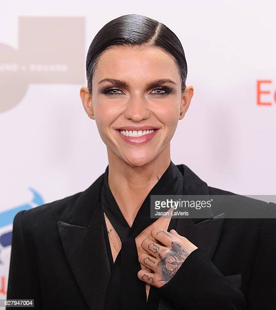 Model Ruby Rose attends Equality Now's 3rd annual 'Make Equality Reality' gala at Montage Beverly Hills on December 5 2016 in Beverly Hills California