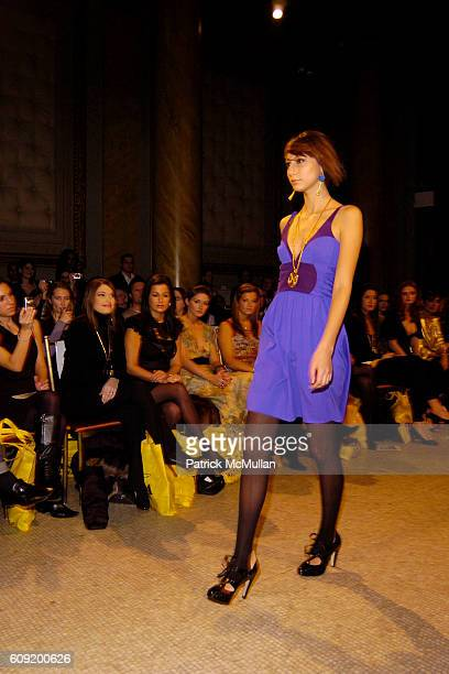 Model Runway attends NICOLE ROMANO FallWinter 2007 Collection at Capitale NYC on February 4 2007