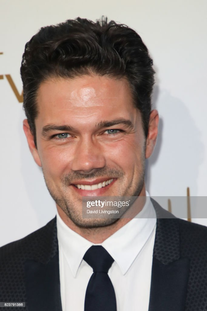 Model Ryan Paevey attends the Hallmark Channel and Hallmark Movies and Mysteries 2017 Summer TCA Tour on July 27, 2017 in Beverly Hills, California.