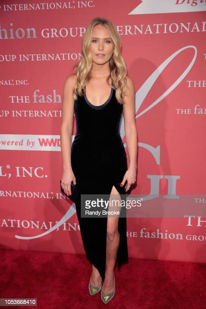 Model Sailor Brinkley attends the 2018 FGI Night Of Stars Gala at Cipriani Wall Street on October 25 2018 in New York City