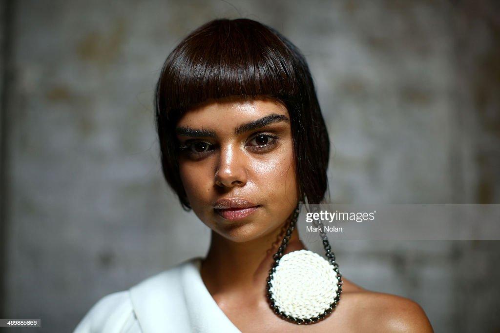 Gail Sorronda - Backstage - Mercedes-Benz Fashion Week Australia 2015