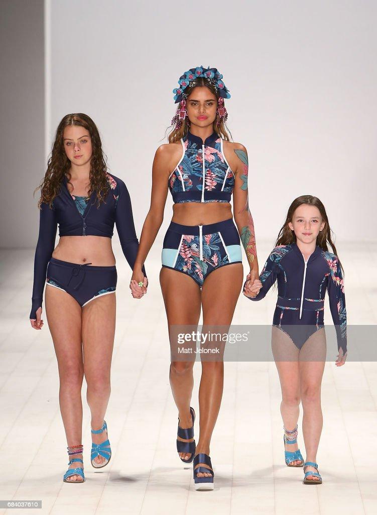 Swim - Runway - Mercedes-Benz Fashion Week Australia 2017