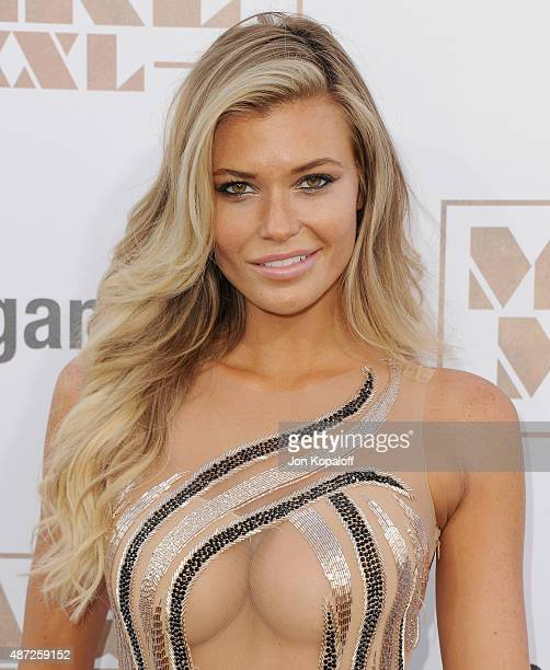 Model Samantha Hoopes arrives at the Los Angeles Premiere 'Magic Mike XXL' at TCL Chinese Theatre IMAX on June 25 2015 in Hollywood California