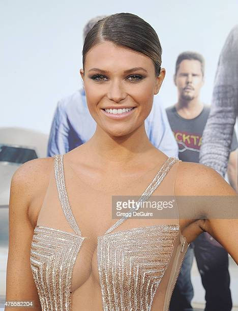 Model Samantha Hoopes arrives at the Los Angeles premiere of 'Entourage' at Regency Village Theatre on June 1 2015 in Westwood California