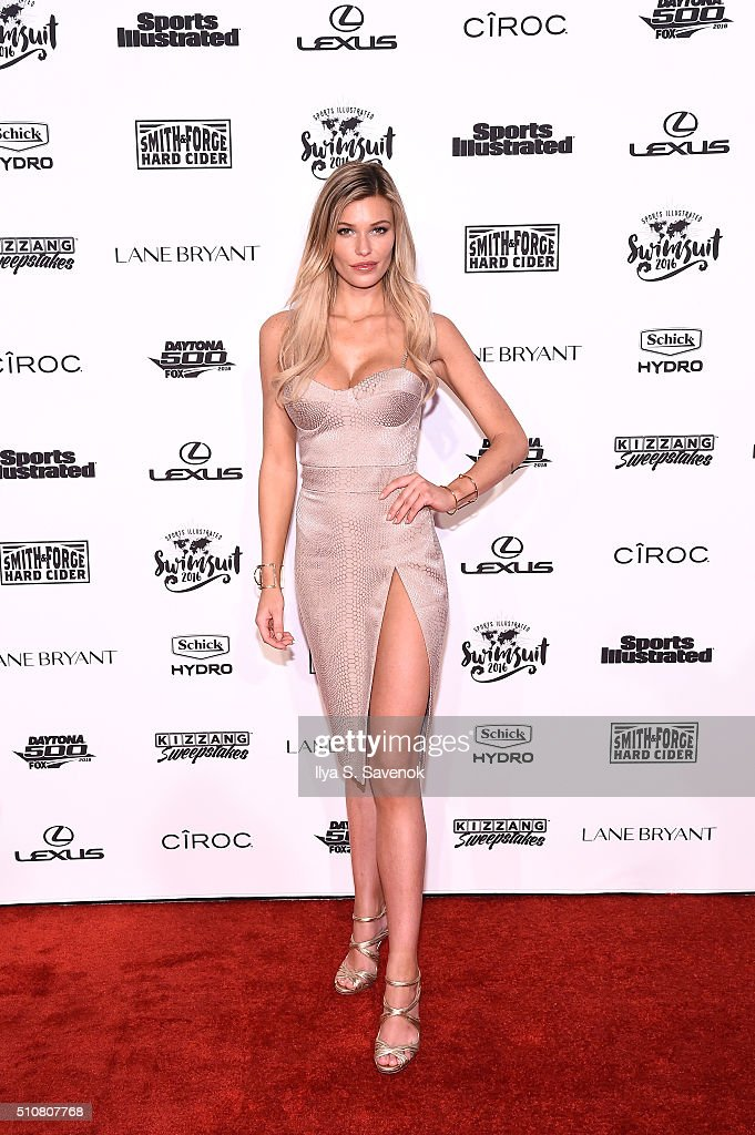 Models Samantha Hoopes And Nina Agdal Team Up With Schick Hydro And Edge Shavel Gel To Celebrate The Launch Of The 2016 Sports Illustrated Swimsuit Issue