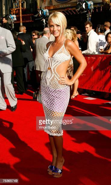 Model Sara Jean Underwood arrives at the 2007 ESPY Awards at the Kodak Theatre on July 11 2007 in Hollywood California
