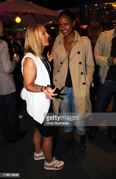 Model Sara Nuru attends Music Meets Media 2013 at Grand Hotel Esplanade on September 5, 2013 in Berlin, Germany.