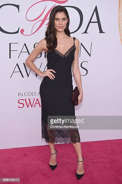 Model Sara Sampaio attends the 2016 CFDA Fashion Awards at the Hammerstein Ballroom on June 6, 2016 in New York City.