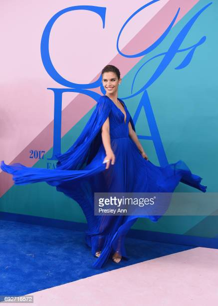 Model Sara Sampaio attends the 2017 CFDA Fashion Awards at Hammerstein Ballroom on June 5 2017 in New York City