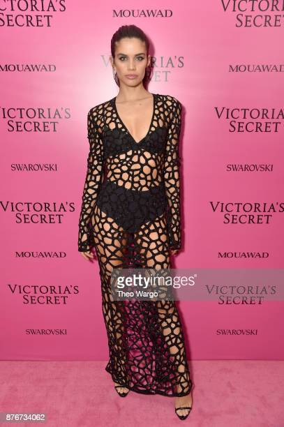 Model Sara Sampaio attends the 2017 Victoria's Secret Fashion Show In Shanghai After Party at MercedesBenz Arena on November 20 2017 in Shanghai China