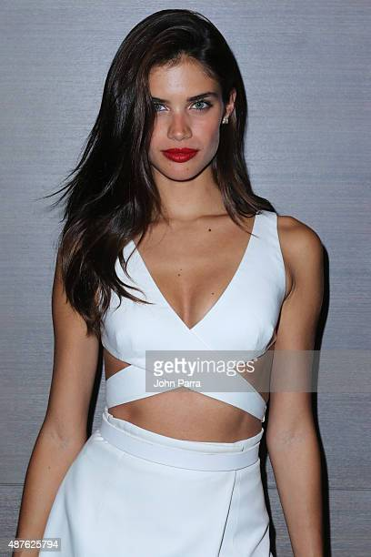 Model Sara Sampaio attends The Daily Front Row's Third Annual Fashion Media Awards at the Park Hyatt New York on September 10 2015 in New York City