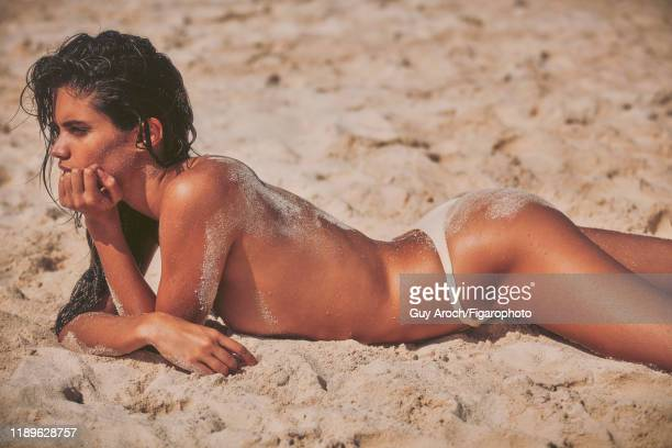 Model Sara Sampaio is photographed for Madame Figaro on December 16 2017 in Mexico Swimsuit PUBLISHED IMAGE CREDIT MUST READ Guy Aroch/Figarophoto...