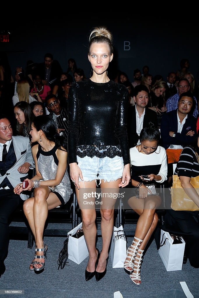 Model Sarah DeAnna attends the Fashion Shenzhen fashion show during Mercedes-Benz Fashion Week Spring 2014 at The Studio at Lincoln Center on September 10, 2013 in New York City.