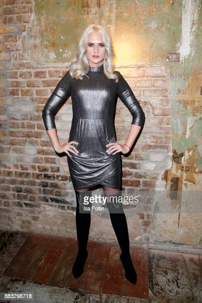 Model Sarah Knappik attends the First Female DIY Pop Up Store Opening at Seven Star Gallery on November 30 2017 in Berlin Germany