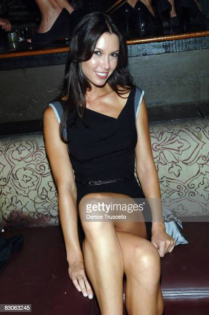 Model Sarah Larson attends TAO Las Vegas at the Venetian Hotel and Casino Resort on July 25 2008 in Las Vegas Nevada