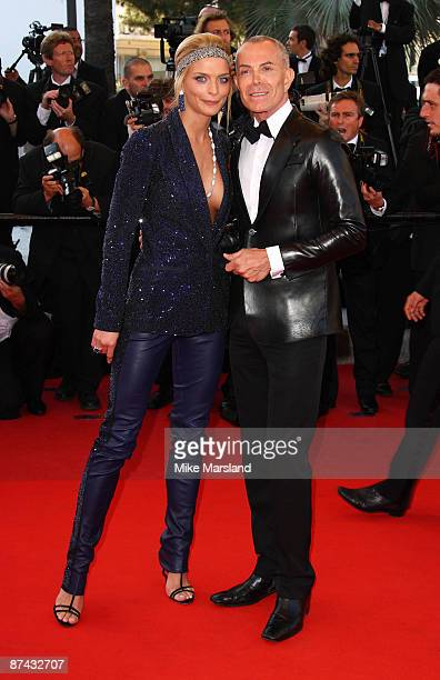 Model Sarah Marshall and designer JeanClaude Jitrois attends the A Prophet Premiere at the Grand Theatre Lumiere during the 62nd Annual Cannes Film...